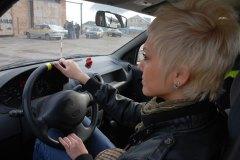 Призеры Мисс Россия Рязань 2010 в гостях у автошколы