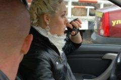 Мисс Россия Рязань 2010 в гостях у автошколы на Павлова