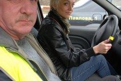 Призеры конкурса Мисс Россия Рязань 2010 в гостях у автошколы