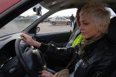 Мисс Россия Рязань 2010 в гостях у автошколы