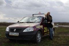 Победительныцы Мисс Россия Рязань 2012 в гостях у автошколы