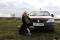 Призеры конкурса Мисс Россия Рязань 2012 в гостях у автошколы на Павлова