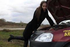 Призеры Мисс Россия Рязань 2012 в гостях у автошколы на Павлова