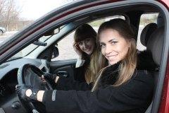 Мисс Россия Рязань 2012 в гостях у автошколы