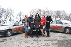 Призеры Мисс Россия Рязань 2014 в Рязанской городской автошколе