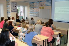 Занятия в учебном центре на Новоселов 21А