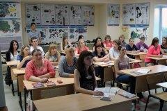 Процесс обучения в учебном центре в Песочне