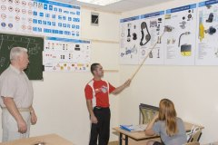 Процесс обучения в учебном центре на Павлова 1