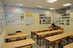 Классы учебного центра Рязанской городской автошколы на Новоселов 21А