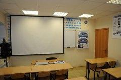 Классы учебного центра Рязанской городской автошколы на Павлова 1