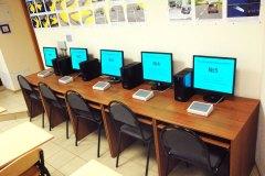 Наш учебный центр на Павлова 1